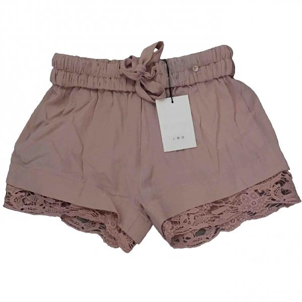 Iro Pink Shorts