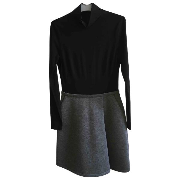 Jil Sander Black Cotton Dress