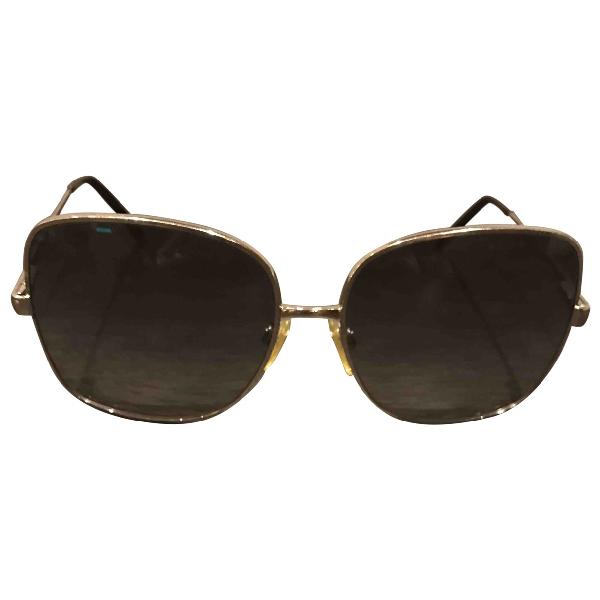 Ralph Lauren Metallic Metal Sunglasses