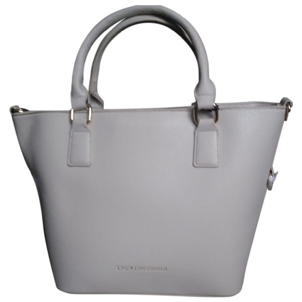 Trussardi Beige Leather Handbag