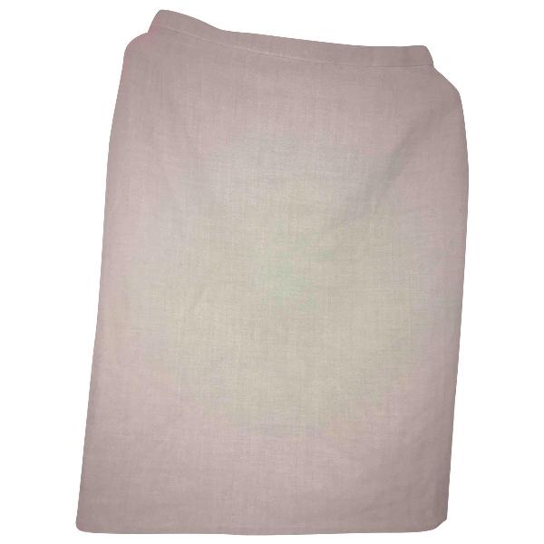 Akris Grey Wool Skirt