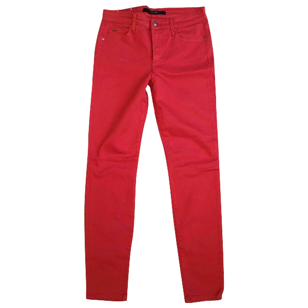 Joe's Red Cotton - Elasthane Jeans