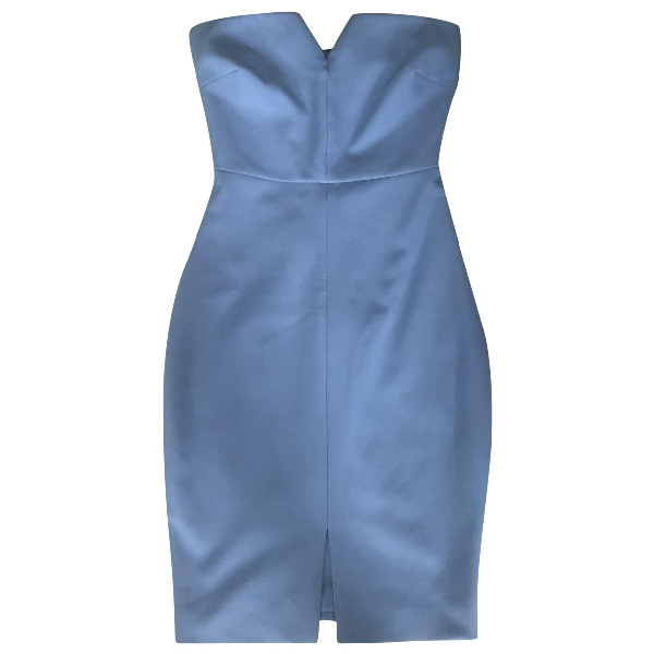 Elizabeth And James Blue Cotton - Elasthane Dress
