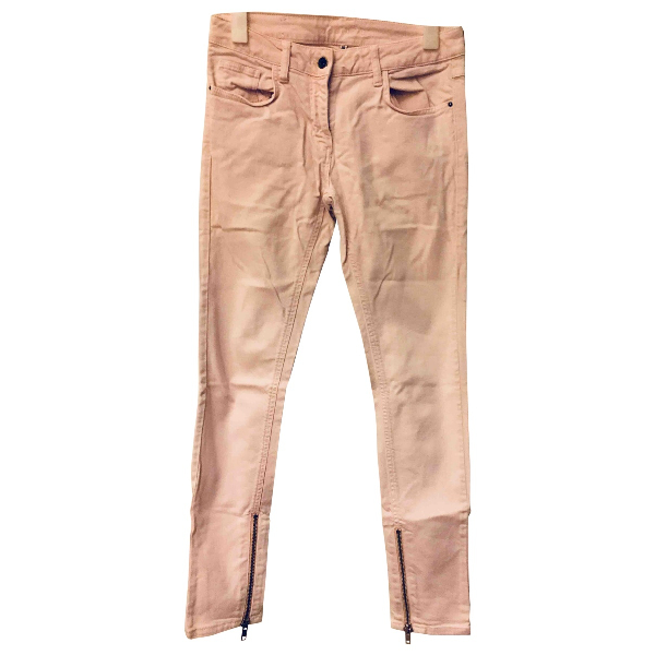 Sandro Pink Cotton Jeans