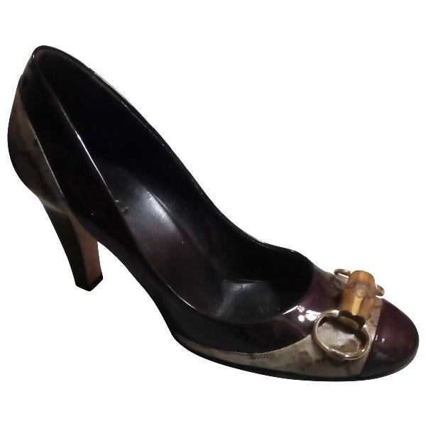 Gucci Beige Leather Heels