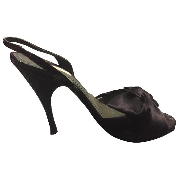 Marc Jacobs Black Sandals