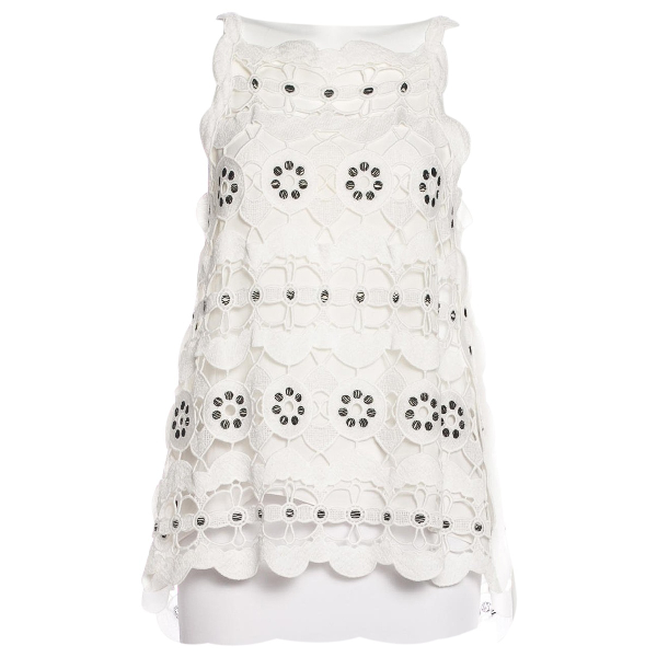 ChloÉ White Cotton  Top