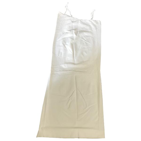 Wolford White Cotton - Elasthane Dress