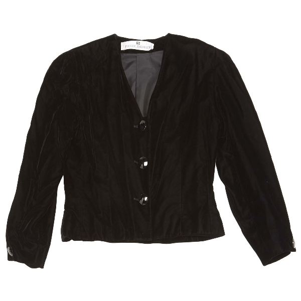 Pierre Balmain Black Velvet Jacket