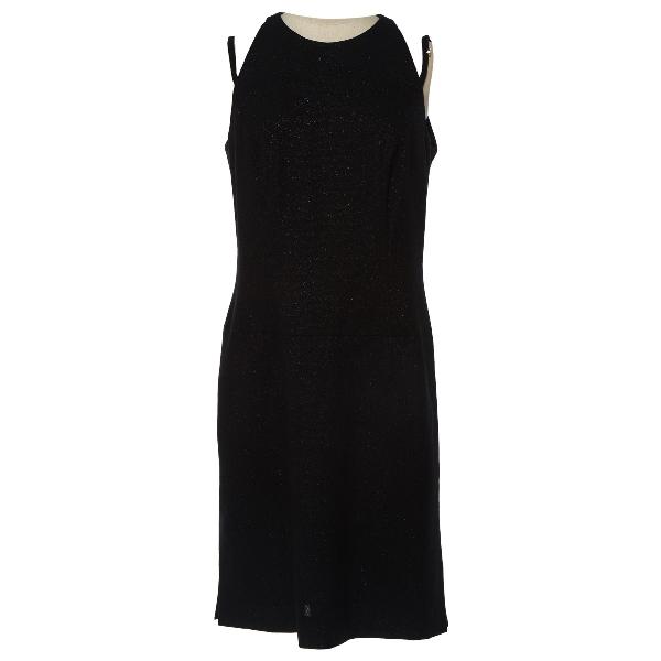 Givenchy Black Wool Dress