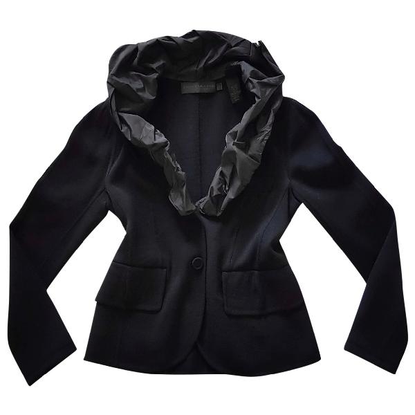 Donna Karan Black Wool Jacket