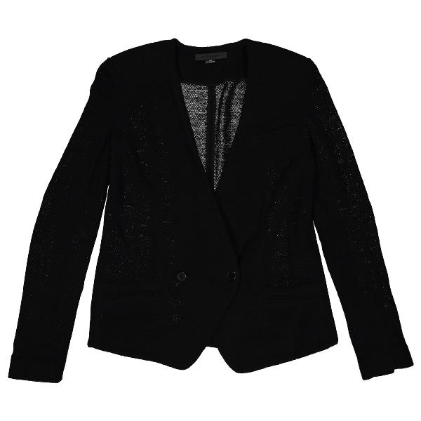Alexander Wang Black Wool Jacket