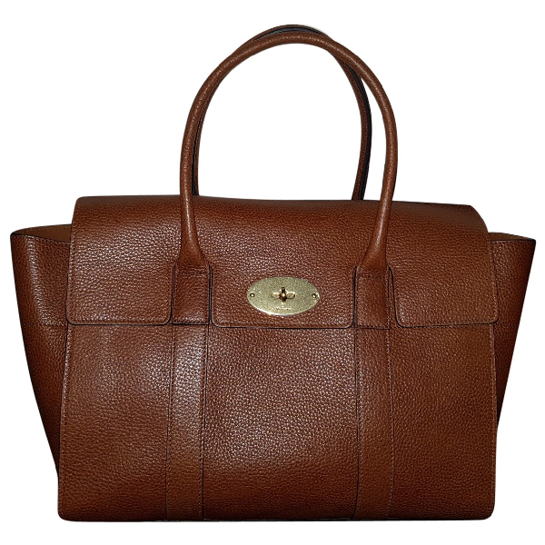 Mulberry Bayswater Tote Camel Leather Handbag