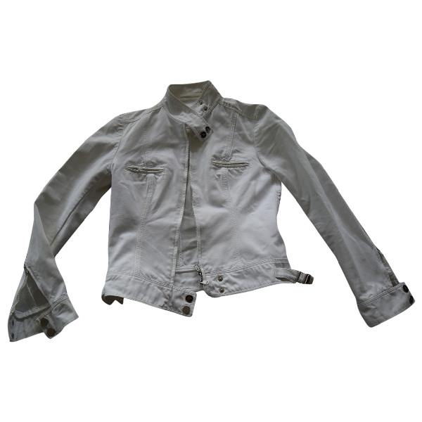 Gucci White Cotton Jacket