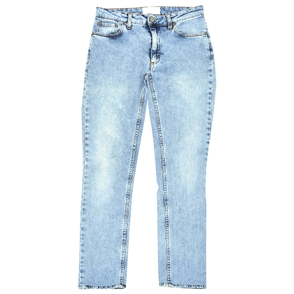 Acne Studios Flex Blue Cotton - Elasthane Jeans