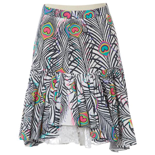 Matthew Williamson Multicolour Cotton Skirt