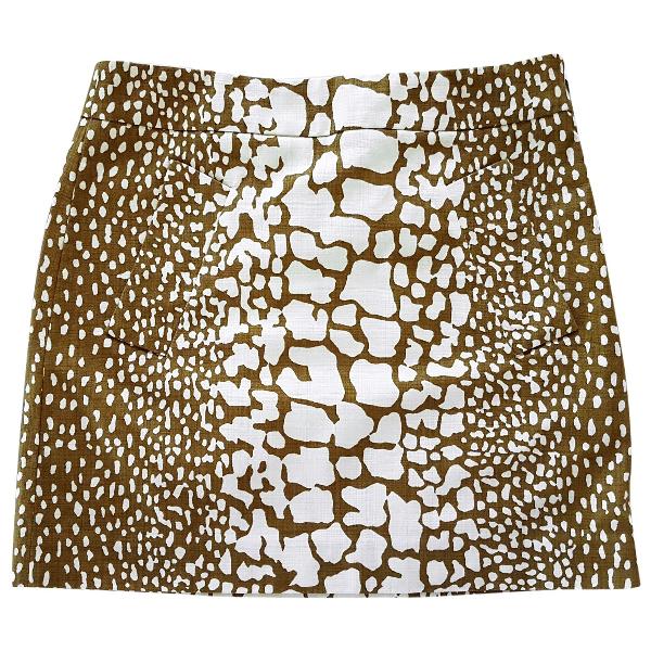 J.crew Khaki Cotton Skirt