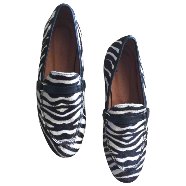 Whistles Pony-style Calfskin Flats