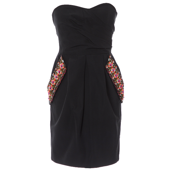 Matthew Williamson Black Cotton Dress