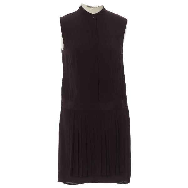 Alexander Wang Purple Silk Dress