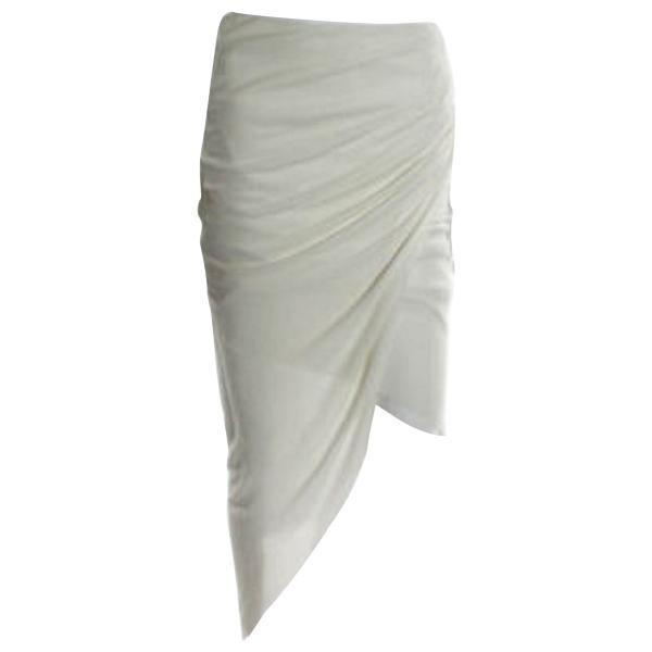 Helmut Lang White Skirt