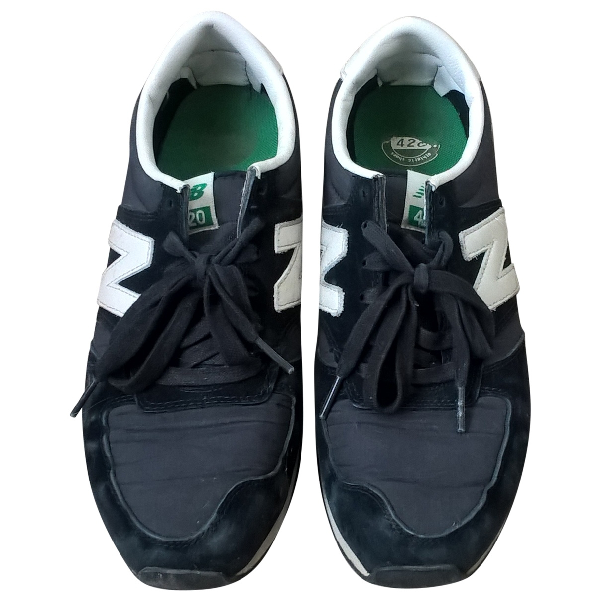 New Balance Black Suede Trainers