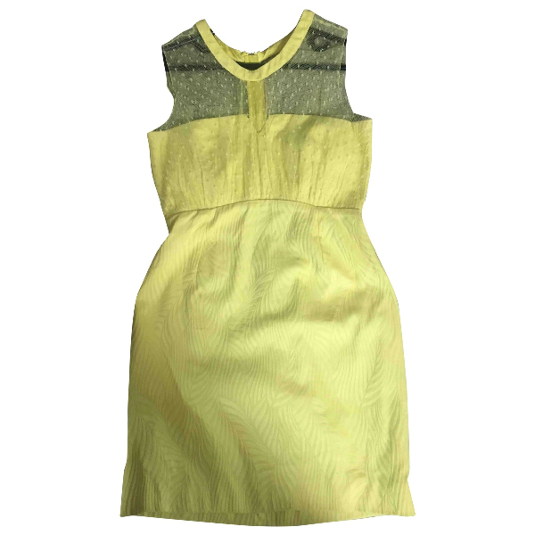 The Kooples Yellow Cotton Dress