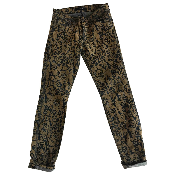 J Brand Blue Cotton - Elasthane Jeans