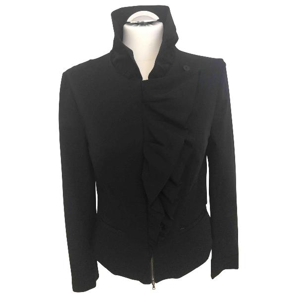 Diane Von Furstenberg Black Jacket