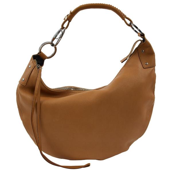 Gucci Camel Leather Handbag