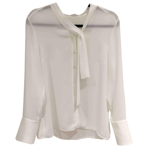 Hugo Boss White Silk  Top
