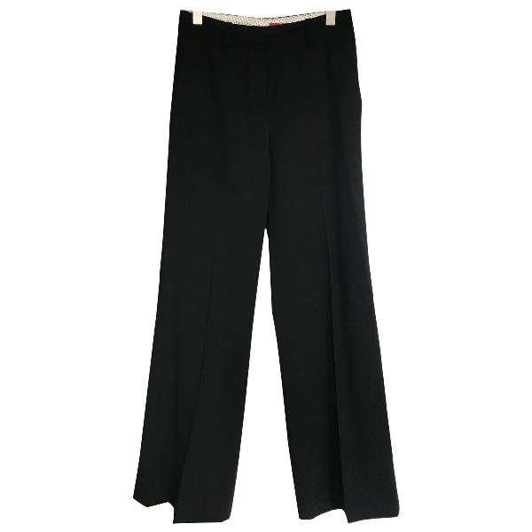 Hugo Boss Black Cotton Trousers