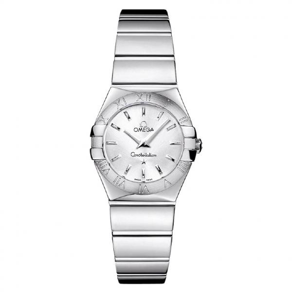 Omega Constellation Silver Steel Watch