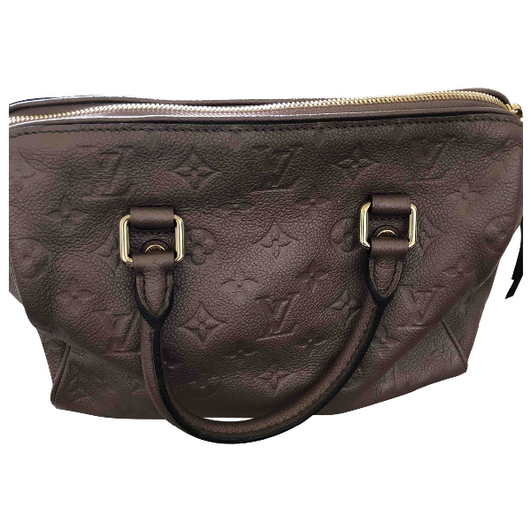 Louis Vuitton Brown Leather Handbag