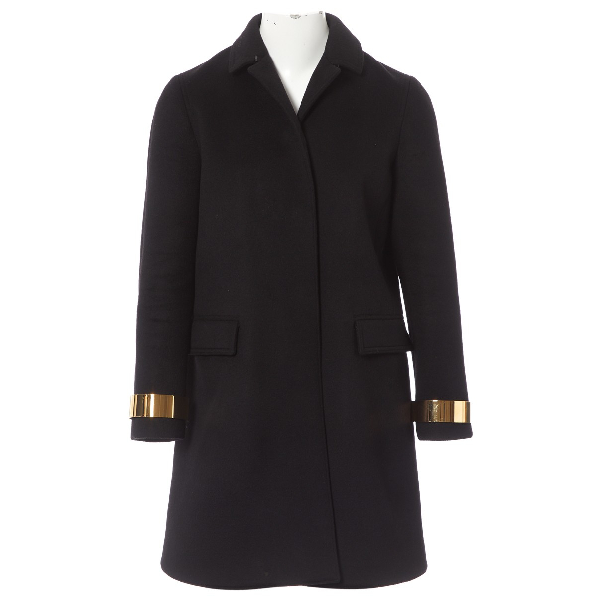 Burberry Black Cashmere Coat