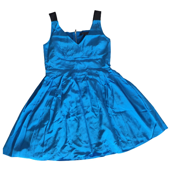 Marc By Marc Jacobs Blue Silk Dress