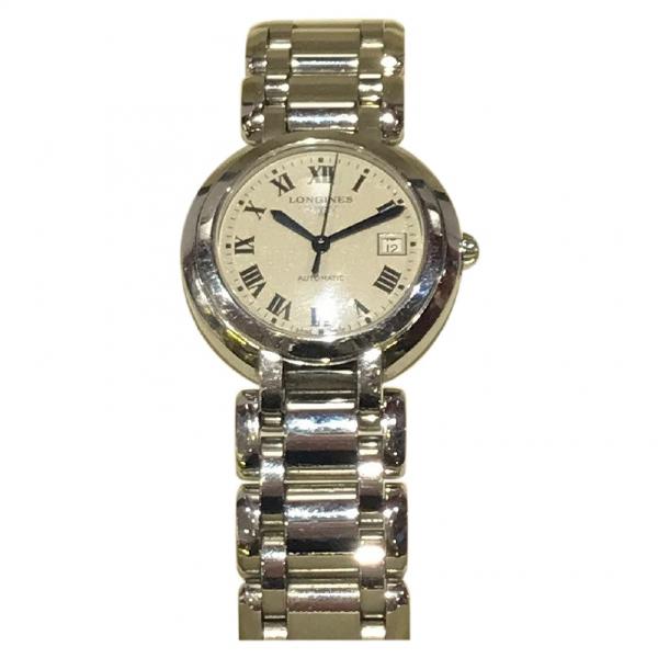 Longines Silver Steel Watch