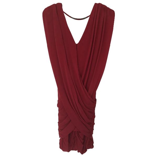 Bcbg Max Azria Red Dress