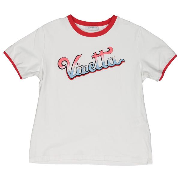 Vivetta White Cotton  Top