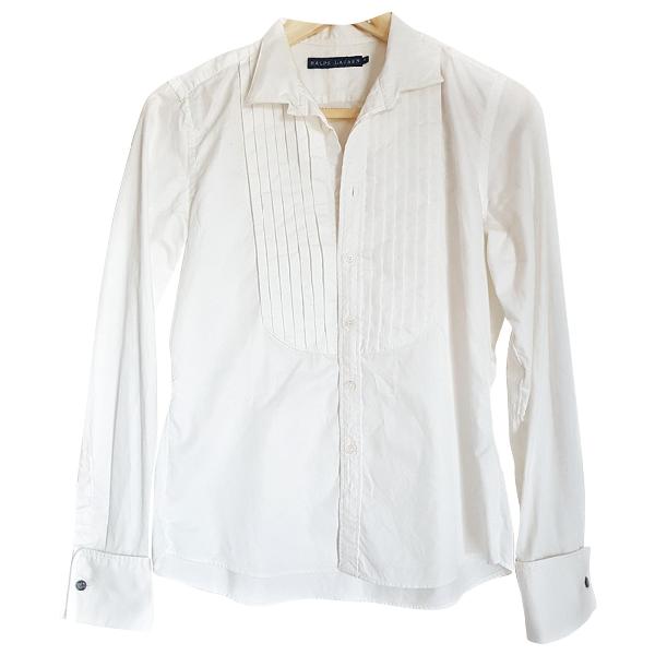 Polo Ralph Lauren White Cotton  Top