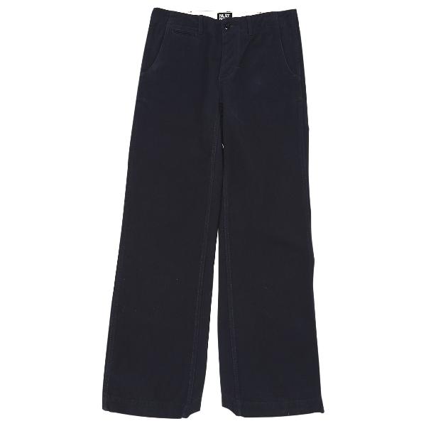 Nlst Navy Cotton Jeans