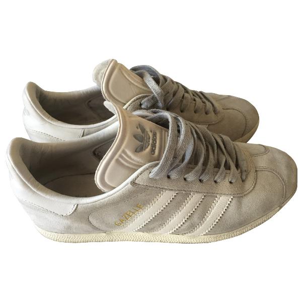 Adidas Originals Gazelle Grey Suede Trainers