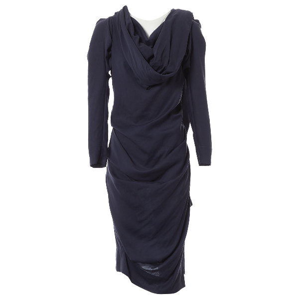 Vivienne Westwood Navy Dress