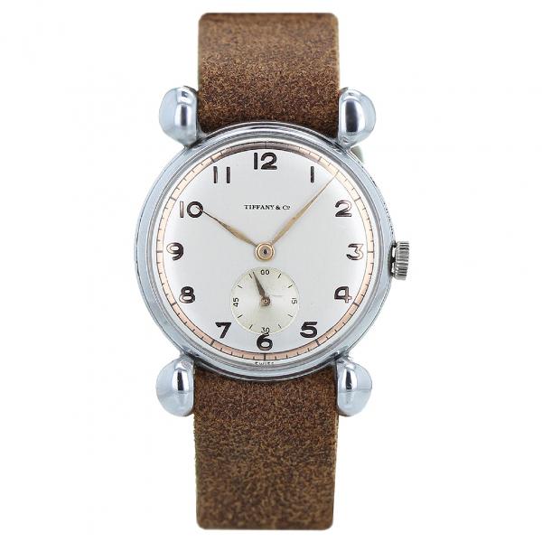 Tiffany & Co Brown Steel Watch