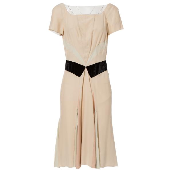 Prada Pink Silk Dress