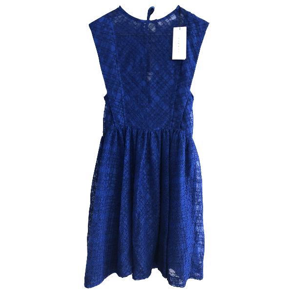 Sandro Blue Cotton Dress