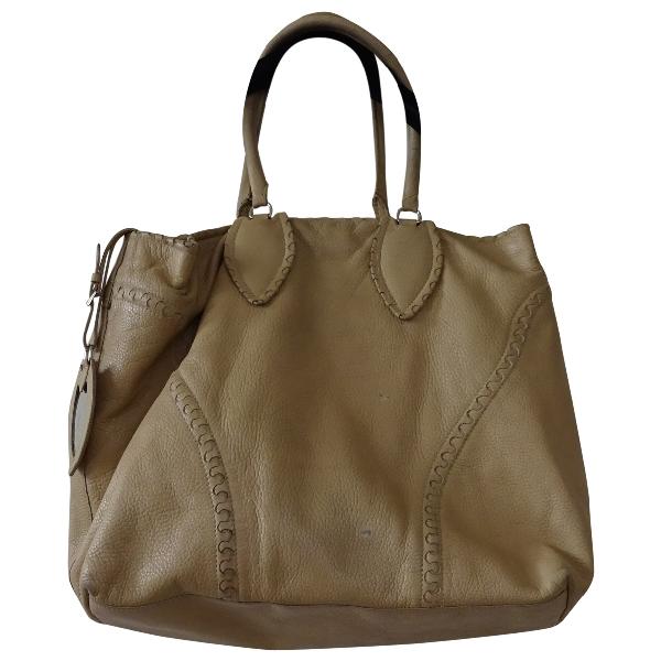 AlaÏa Pink Leather Handbag