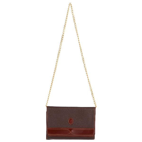 Trussardi Brown Leather Handbag