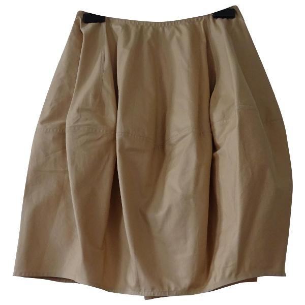 AlaÏa Pink Cotton Skirt