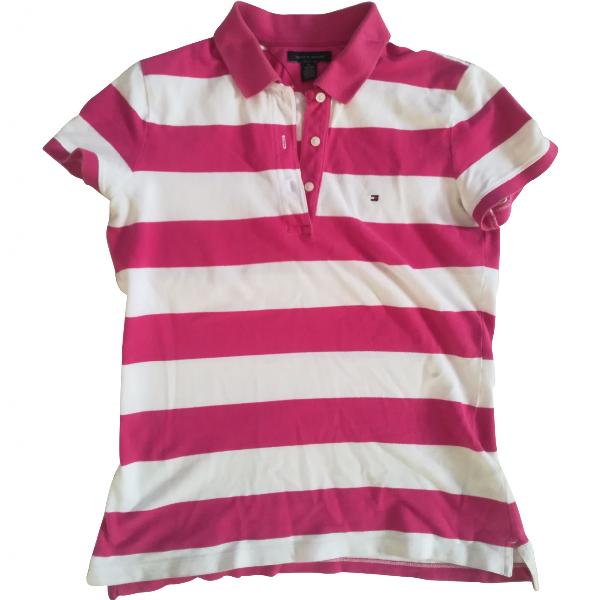 Tommy Hilfiger Pink Cotton  Top
